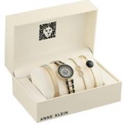Anne Klein 安妮·克莱因 AK/3286BKST 手表手链套装 含税到手约¥270.48¥246.84 比上一次爆料降低 ¥38.62