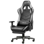 HBADA 黑白调 HDJY001 家用电脑椅(钢制脚+固定扶手)499元包邮(双重优惠)