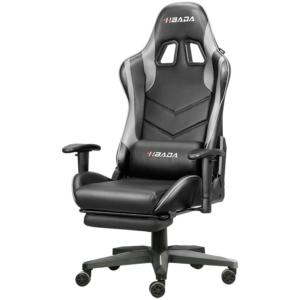 HBADA 黑白调 HDJY001 家用电脑椅(钢制脚+固定扶手)