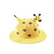 HOCR 卡通圆顶渔夫帽 小鹿帽-黄色