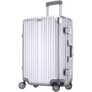 行李箱 密码箱 万向轮 铝框 旅行拉杆箱20寸