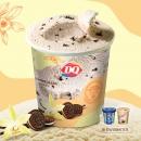 DQ 马达加斯加香草口味冰淇淋400g(含曲奇饼干)