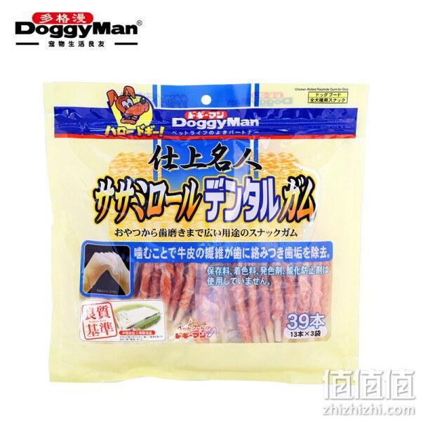 DoggyMan 多格漫 名仕系列鸡胸肉生牛皮卷