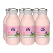 FRISIAN COW 弗里生乳牛 草莓牛奶 243ml*6瓶19.9元包邮(需用券)