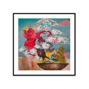 dprints迪品 Amanda 限量版画《玲珑盆景》创意家装 装饰画620x620mm 档案纸 50版1580元(包邮)