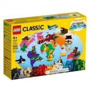 plus会员:LEGO 乐高 经典创意系列 11015 环球动物大集合