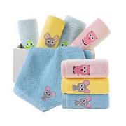 KINGSHORE 金号 儿童毛巾 8条装¥18.20 1.6折