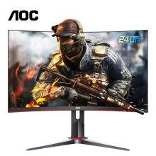 PLUS会员:AOC 冠捷 C27G2Z 27英寸显示器 (1920×1080、240Hz、98%NTSC、1500R、0.5ms)