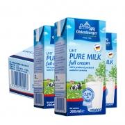 88VIP:OLDENBURGER 欧德堡 进口全脂纯牛奶 200ml*24盒/箱*5件+凑单品162.78元包邮(多重优惠,合32.56元/件)
