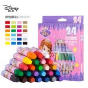 Disney 迪士尼 苏菲亚系列 DM6477-6S 儿童油画棒套装 24色