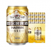 88VIP:HARBIN 哈尔滨啤酒 小麦王拉罐330ml*12听 两提装 *4件94.22元(折合23.56元/件)