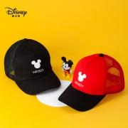 Disney 迪士尼 儿童半网面棒球帽14元包邮