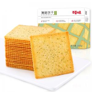 Be&Cheery 百草味 薄脆饼干 308g*2件