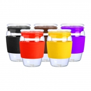 MINGSHANGDE 明尚德 玻璃泡茶杯 450ml9.9元(双重优惠,88VIP到手9.4元)