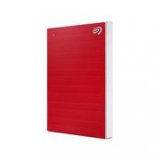 PLUS会员:SEAGATE 希捷 铭系列 USB便捷移动硬盘 4TB USB3.0 兼容Mac 红色