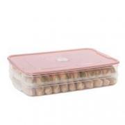 Tuite 推特 饺子保鲜盒 2层1盖 23*32*7.6cm5.8元包邮