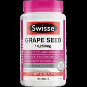 Swisse 葡萄籽片 高浓度原花青素 180片/瓶 美白淡斑104元进口日价