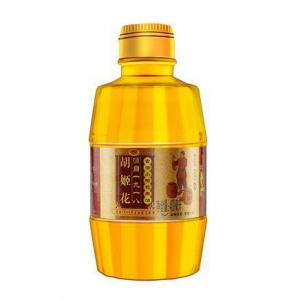 PLUS会员:胡姬花 古法小榨花生油食用油 400ml*4瓶