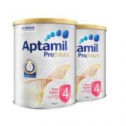 Aptamil 爱他美 白金澳洲版 新西兰儿童配方奶粉 4段 900g 2罐371.2元