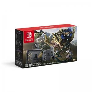Nintendo 任天堂 日版 Switch游戏主机 续航版《怪物猎人 崛起》限定