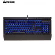 USCORSAIR 美商海盗船 K68 有线机械键盘 104键 Cherry青轴 蓝光 黑色