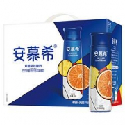 88vip:安慕希 高端畅饮橙+凤梨味酸奶 230g*10瓶 *2件