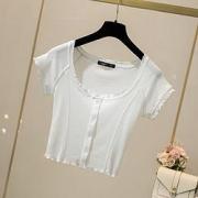 La Chapelle 拉夏贝尔 27115-02SH-01P 女式T恤34元