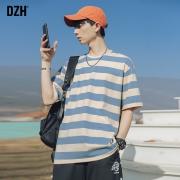 DZH HL-F138-5 男士条纹T恤67.5元包邮