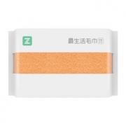 MIJIA 米家 最生活毛巾 轻柔款 橘色 32*70cm9.9元包邮