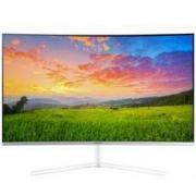 PLUS会员:SAMSUNG 三星 U32R591CWC 31.5英寸VA显示器(3840×2160、60Hz、1500R)2229元