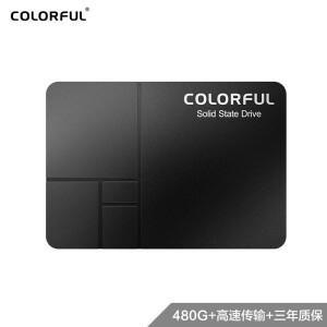 COLORFUL 七彩虹 Colorful) 480GB SSD固态硬盘 SATA3.0接口 SL500系列