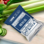 HAIWAN 海湾 加碘精制细盐 海盐天然生态盐  400g*6袋¥8.90
