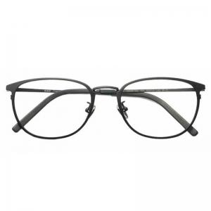 88VIP:HAN 汉 纯钛近视眼镜框架3312AL+1.60非球面防蓝光镜片