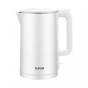 88VIP:SUPOR 苏泊尔 不锈钢电热水壶 1.5L55.8元(返10元猫超卡后45.8元)