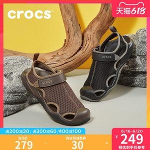 Crocs 卡骆驰 男子 激浪 速干运动凉鞋