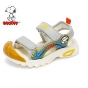 SNOOPY 史努比 儿童机能包头凉鞋  22-32码