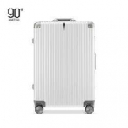 NINETYGO 90分 铝框行李箱 20英寸登机箱学生旅行箱