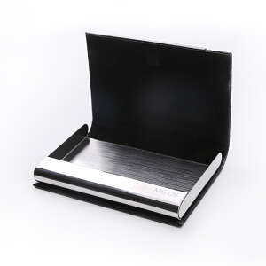 M&G 晨光 ASC99387 便携商务名片盒 荔枝皮纹 单个装