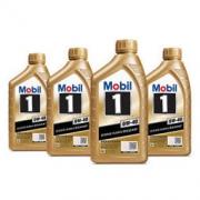 Mobil 美孚 金装美孚1号 全合成机油 0W-40 SN级 1L 4瓶装320元