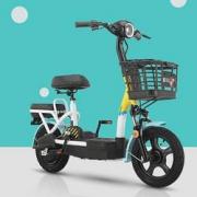 16日0点:AIMA 爱玛 TDT1141Z 小金刚 电动自行车1099元(限量500台)