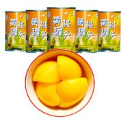 PLUS会员:故里田间 砀山糖水黄桃罐头 425g