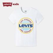 Levi's 李维斯 儿童LOGO针织T恤79元包邮(需用券)(慢津贴后76.52元)(超级补贴)