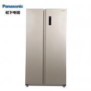 Panasonic 松下 NR-W57S1-N 对开门冰箱 570L618狂欢:2990元包邮(需100元定金,18号付尾款)