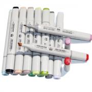 PLUS会员:FINECOLOUR 法卡勒 马克笔手绘套装 一代动漫设计 60色234.1元(包邮,双重优惠)