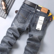 ENKOM LEE 男士四季弹力直筒宽松牛仔裤59.9元包邮