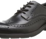 Prime会员!GEOX 健乐士 U Dublin 男士布洛克皮鞋 到手323.08元¥294.56