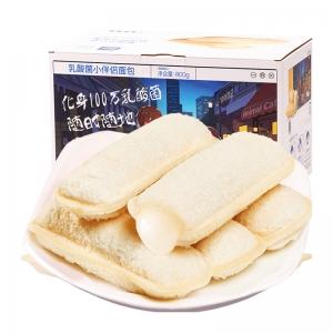 88VIP:三只松鼠 乳酸菌 小伴侣面包 520g*1箱