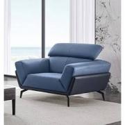 DeRUCCI 慕思 RCW1-062 简约现代牛皮沙发 单人位2598元包邮(双重优惠)