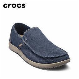 Crocs 卡骆驰 202972 男士休闲鞋 深蓝/草灰 40