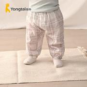Tong Tai 童泰 婴儿轻薄棉纱防蚊裤¥29.00